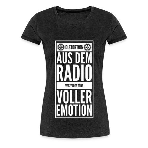 Verzerrte Emotion Shirt - Frauen Premium T-Shirt