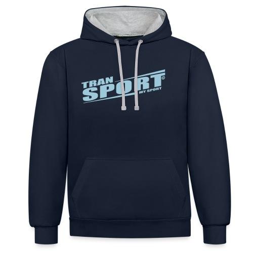 Transport, My Sport - Contrast hoodie