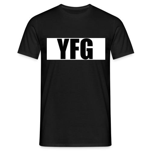 YFG White Square - Mannen T-shirt