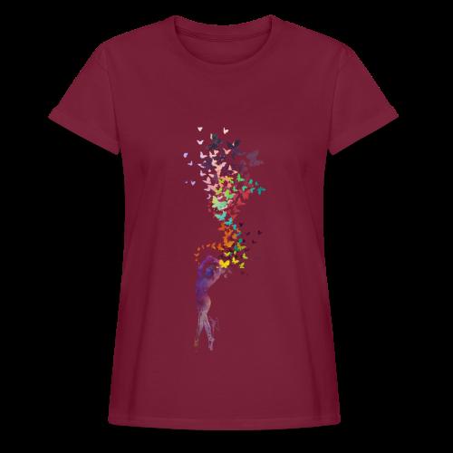 Mind of Butterflies - Vrouwen oversize T-shirt