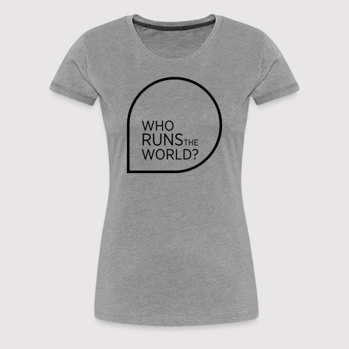 Brigitte Academy Statement T-Shirt  Rundhals-Ausschnitt - Frauen Premium T-Shirt