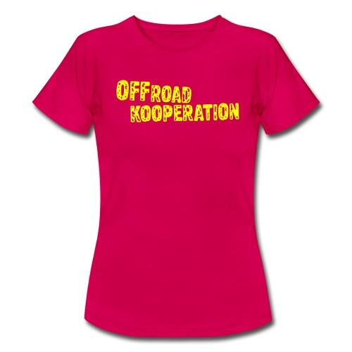 mint/yellow - Frauen T-Shirt