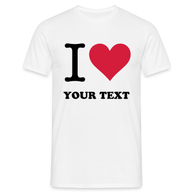 White I Love Original (2c, NEU) Men's T-Shirts