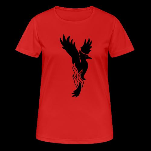 Phönixshirt für Frauen (einfarbig) - Frauen T-Shirt atmungsaktiv