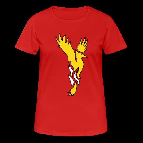 Phönixshirt für Frauen - Frauen T-Shirt atmungsaktiv
