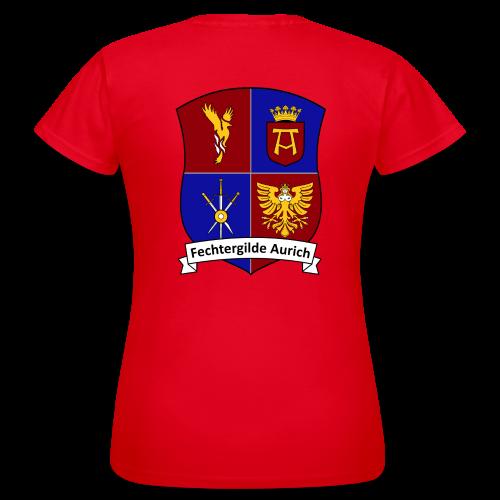 Fechtergildenshirt für Frauen - Frauen T-Shirt