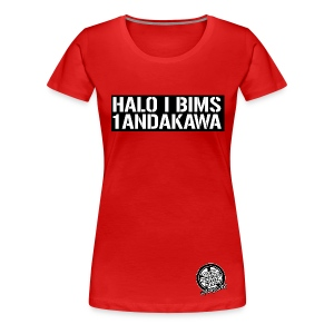 HALO I BIMS - GIRLY - Frauen Premium T-Shirt