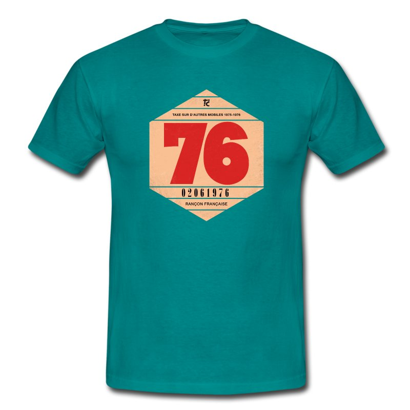 Vignette automobile 1976 - T-shirt Homme
