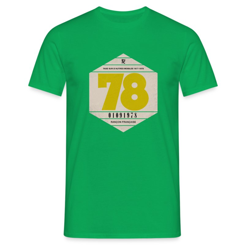 Vignette automobile 1978 - T-shirt Homme