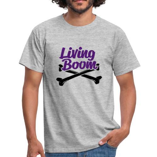 Living Boom Phat low purple - T-shirt Homme