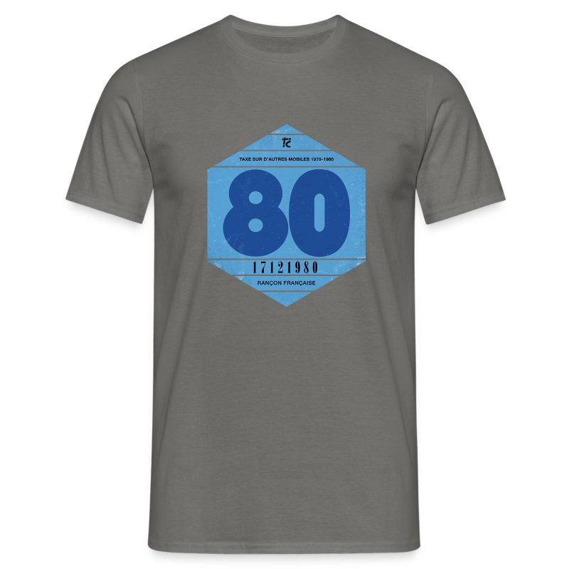 Vignette automobile 1980 - T-shirt Homme