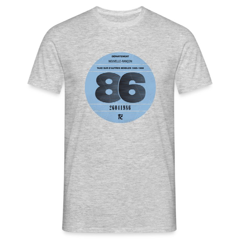 Vignette automobile 1986 - T-shirt Homme