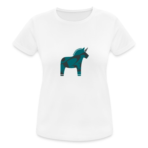 Shirt Unicorn - Frauen T-Shirt atmungsaktiv