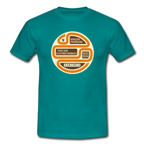 Vignette automobile 1973 - T-shirt Homme