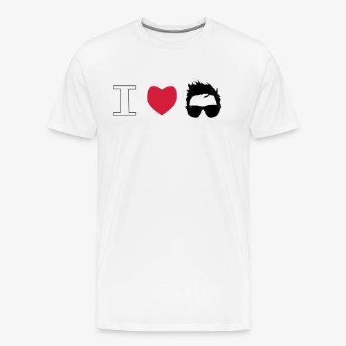 I love Dani - Camiseta premium hombre