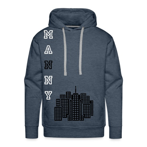 Mannyslim fit T-shirt Desiged By Mogly (Mauriciarno) - Men's Premium Hoodie