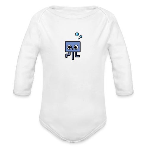 Bio Strampler Qualle - Baby Bio-Langarm-Body