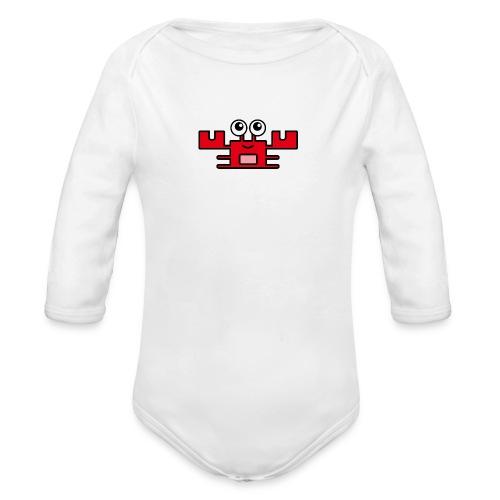 Bio Strampler Krabby - Baby Bio-Langarm-Body
