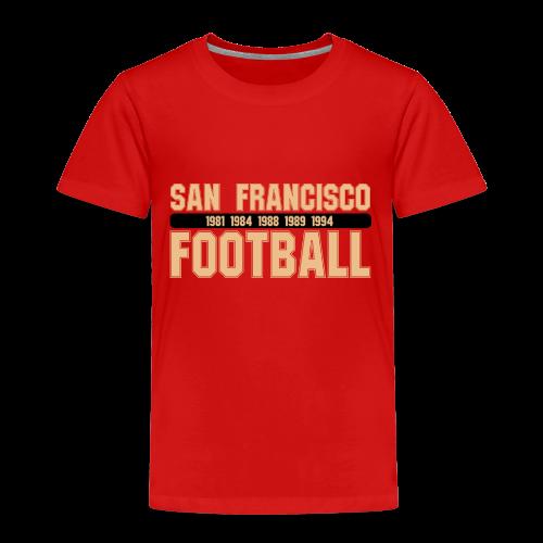 San Francisco Football - Kinder Shirt - Kinder Premium T-Shirt