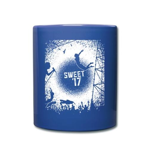 Sweet '17 Festival Tasse blau - Tasse einfarbig