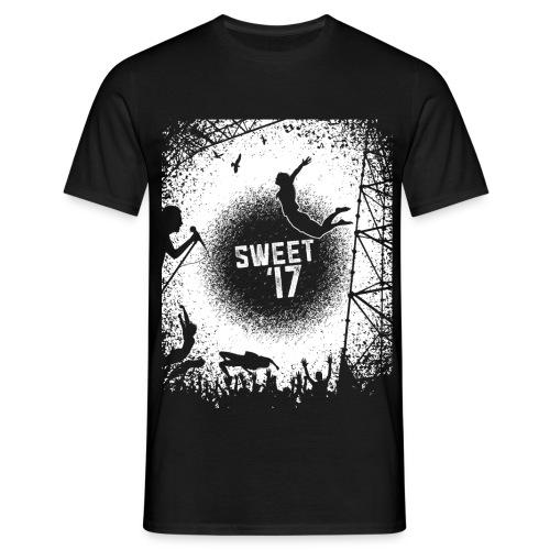 Sweet '17 Festival Summer - Schwarzes Tee - Männer T-Shirt