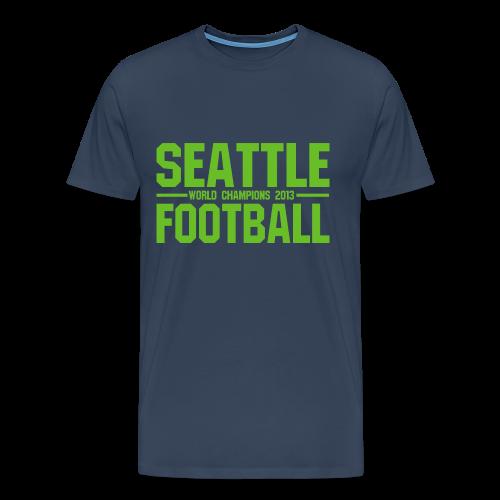 Seattle Football - Herren Shirt - Männer Premium T-Shirt