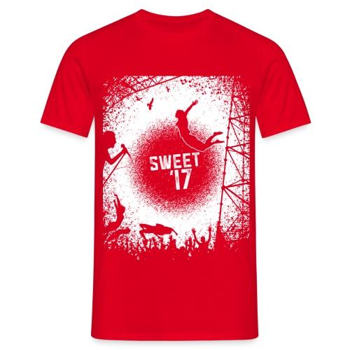 Sweet '17 Festival Summer - Rotes Tee - Männer T-Shirt