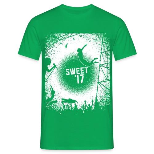 Sweet '17 Festival Summer - Grünes Tee - Männer T-Shirt