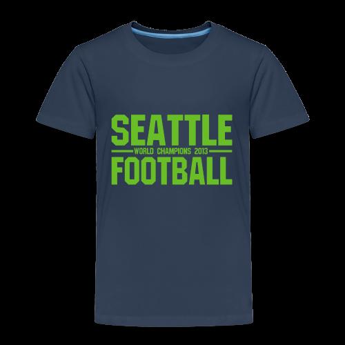 Seattle Football - Kinder Shirt - Kinder Premium T-Shirt