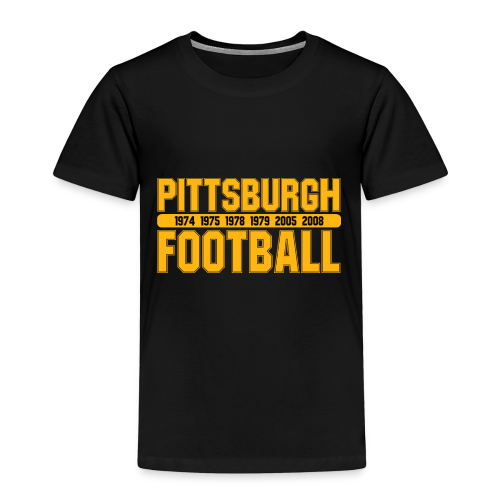 Pittsburgh Football - Kinder Shirt - Kinder Premium T-Shirt