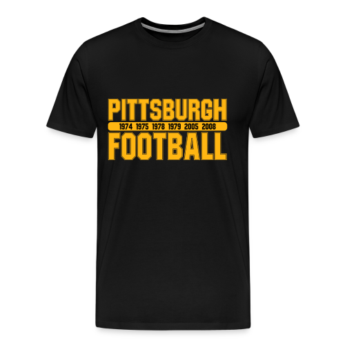Pittsburgh Football - Herren Shirt - Männer Premium T-Shirt