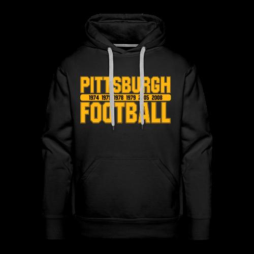 Pittsburgh Football - Herren Hoodie - Männer Premium Hoodie
