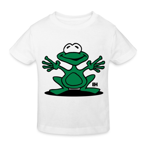 White Frog - Kids' Organic T-Shirt