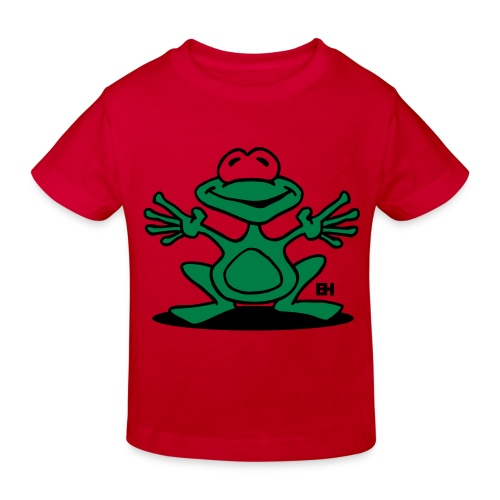 Red Frog - Kids' Organic T-Shirt