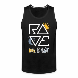 RAVE Day & Night V2 - Tanktop - Männer Premium Tank Top