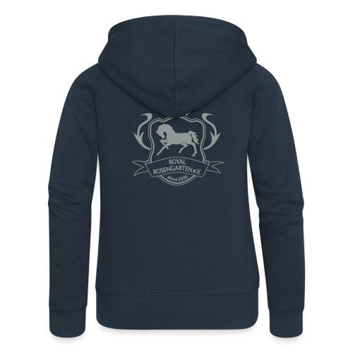 Royal Hoody Jacke Woman - Frauen Premium Kapuzenjacke