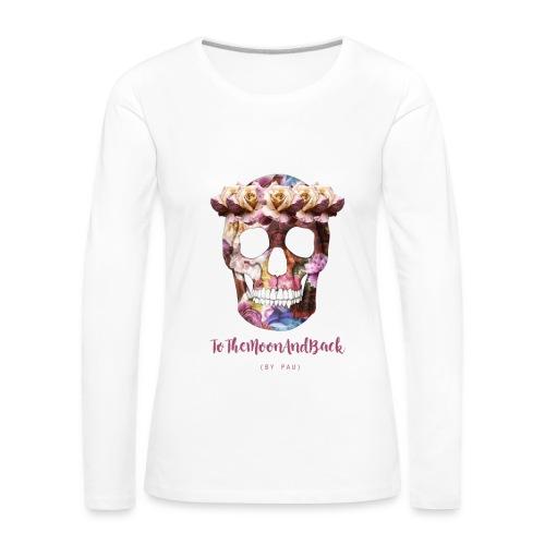 Camiseta chica manga larga - Camiseta de manga larga premium mujer
