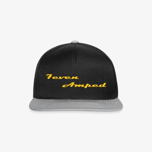 7A Base Cap 2-farbig grau - Snapback Cap