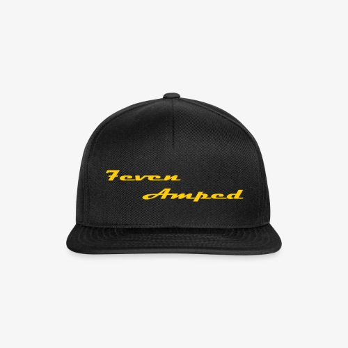 7A Base Cap schwarz - Snapback Cap