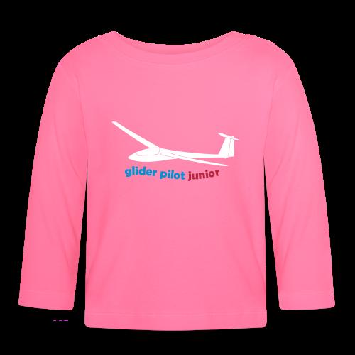 glider pilot junior - Baby Langarmshirt