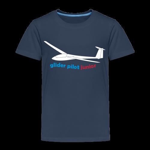 glider pilot junior - Kinder Premium T-Shirt