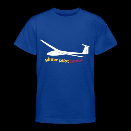 glider pilot junior - Teenager T-Shirt