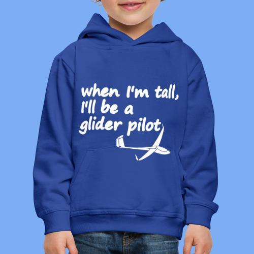 become glider pilot - Kids' Premium Hoodie