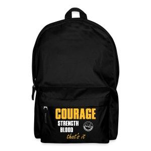 CourageStrengthBlood - Rucksack