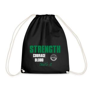 StrengthCourageBlood - Turnbeutel
