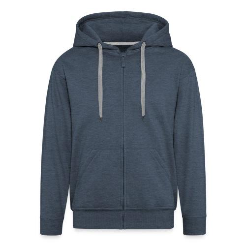 Giacca con cappuccio da uomo - Felpa con zip Premium da uomo