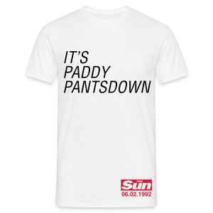 It's Paddy Pantsdown - Men's T-Shirt