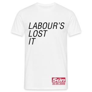 Labour's Lost It - Men's T-Shirt