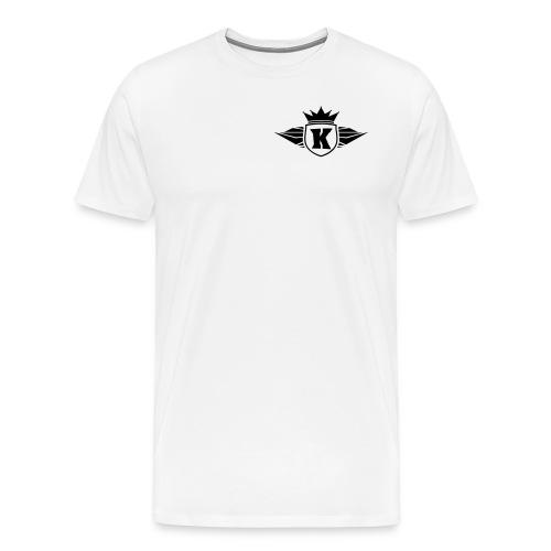 KOKO CRAFTER-Simple T-Shirt (White) - Männer Premium T-Shirt