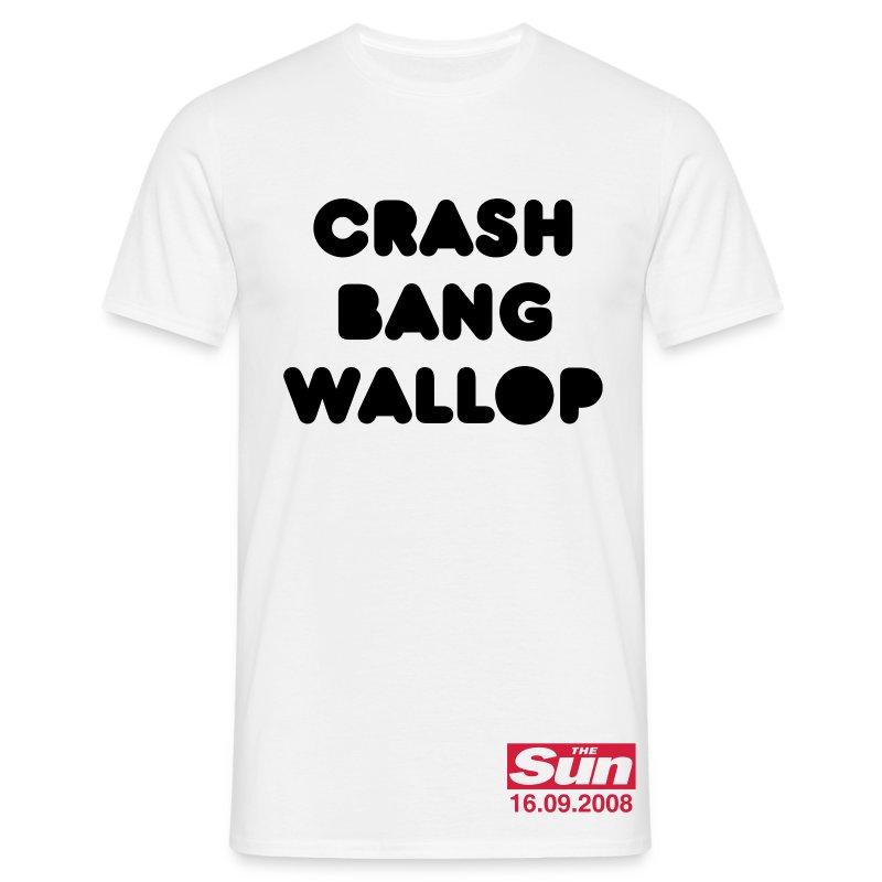 Crash Bang Wallop - Men's T-Shirt
